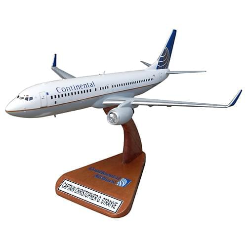 Continental Airlines Commercial Aviation Aircraft Models
