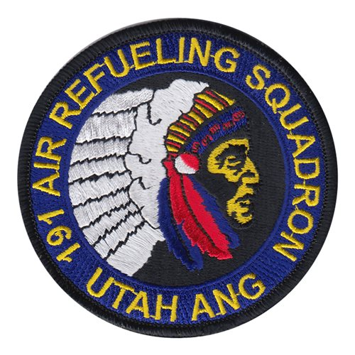 191 ARS ANG Utah Air National Guard U.S. Air Force Custom Patches
