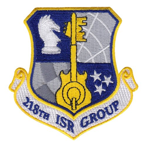 218 ISRG ANG Tennessee Air National Guard U.S. Air Force Custom Patches