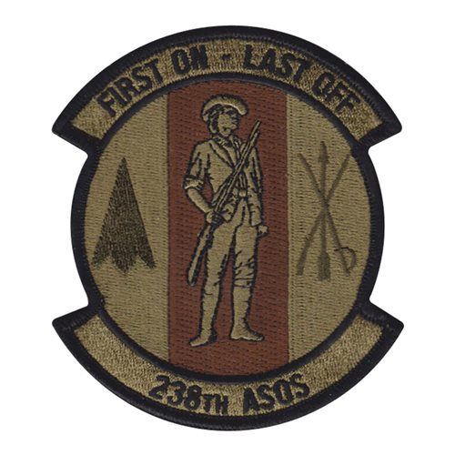 238 ASOS Randolph AFB U.S. Air Force Custom Patches
