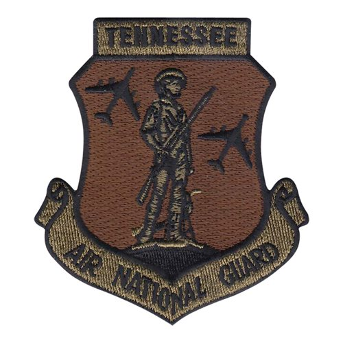 ANG Tennessee Air National Guard U.S. Air Force Custom Patches