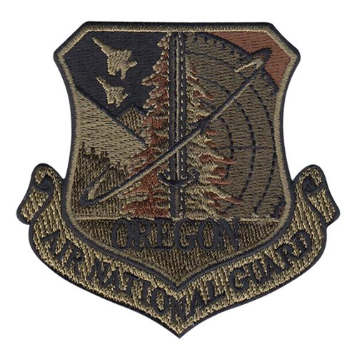 ANG Oregon Air National Guard U.S. Air Force Custom Patches