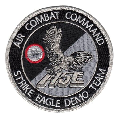 F-15E Demo Team USAF Demo Teams U.S. Air Force Custom Patches