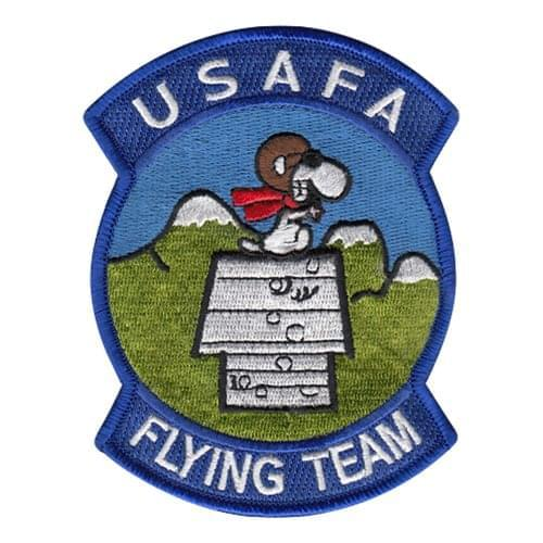 USAFA Flying Team USAF Academy U.S. Air Force Custom Patches