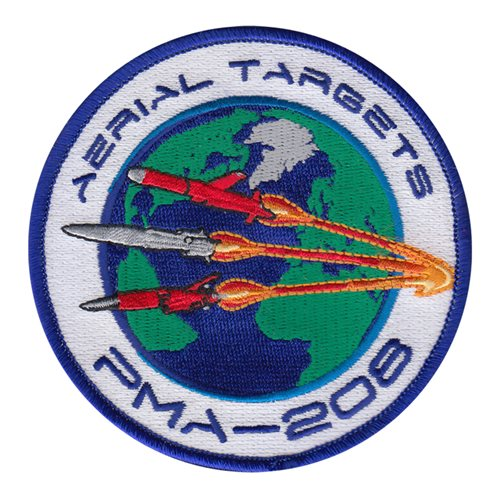 PMA-208 U.S. Navy Custom Patches