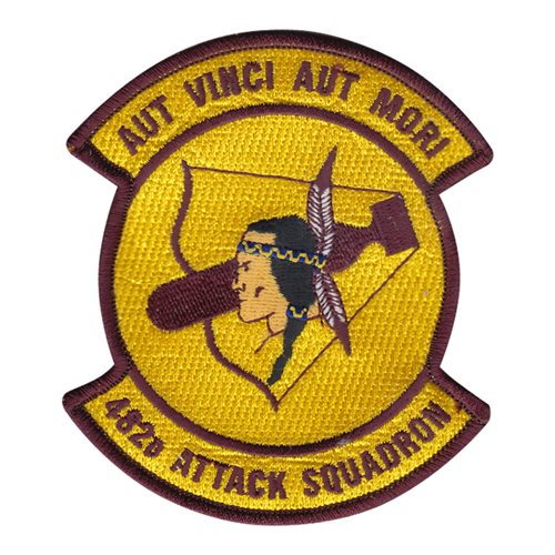482 ATKS Shaw AFB, SC U.S. Air Force Custom Patches
