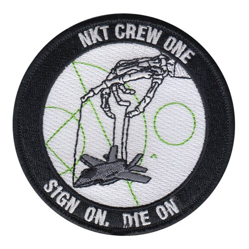 ATC NKT Crew One USMC Custom Patches