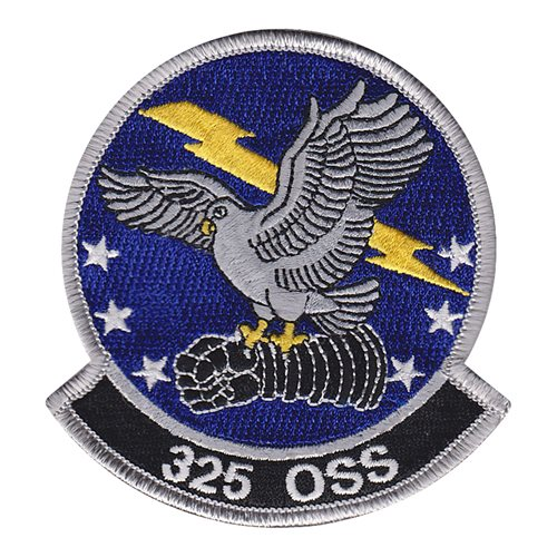 325 OSS Tyndall AFB, FL U.S. Air Force Custom Patches