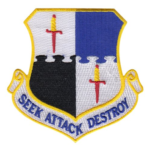 52 FW Spangdahlem AB U.S. Air Force Custom Patches