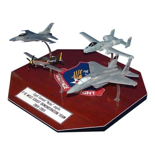 4-Ship Formation Aircraft Models
