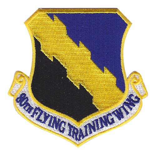 80 FTW Sheppard AFB U.S. Air Force Custom Patches