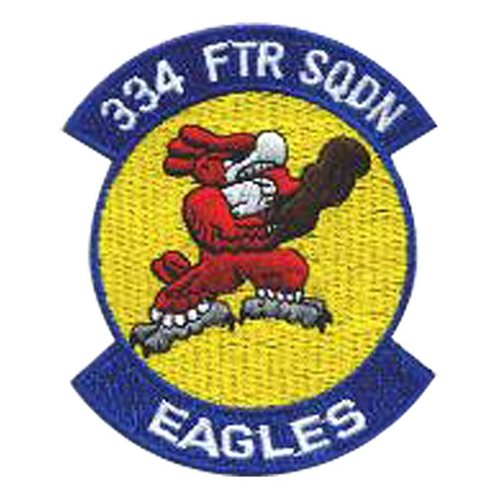 334 FS Seymour Johnson AFB U.S. Air Force Custom Patches
