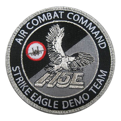 F-15E Demo Team Seymour Johnson AFB U.S. Air Force Custom Patches