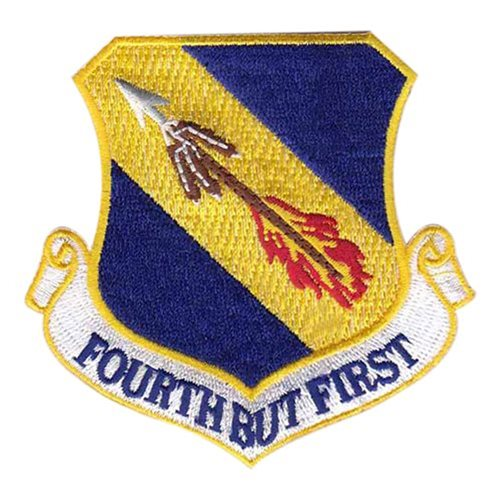 4 FW Seymour Johnson AFB U.S. Air Force Custom Patches