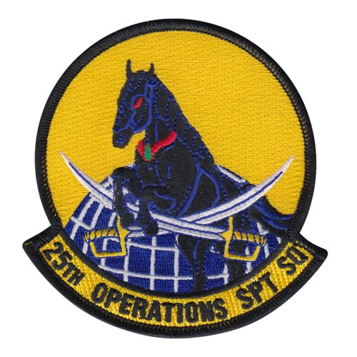 25 OSS Shaw AFB, SC U.S. Air Force Custom Patches