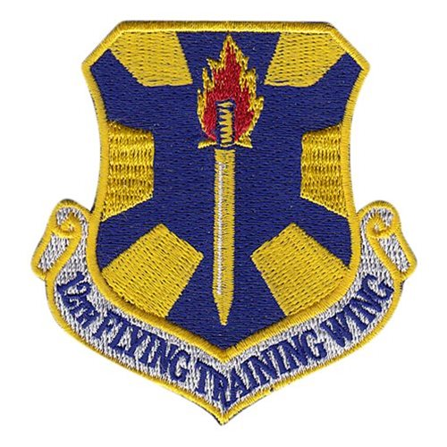 12 FTW Randolph AFB U.S. Air Force Custom Patches