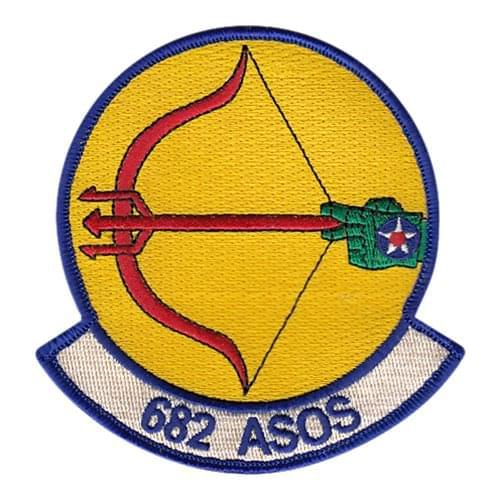 682 ASOS Pope Field U.S. Air Force Custom Patches