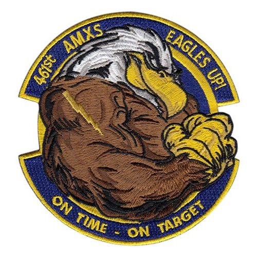 461 AMXS Robins AFB, GA U.S. Air Force Custom Patches