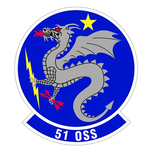 51 OSS Osan AB, ROK U.S. Air Force Custom Patches