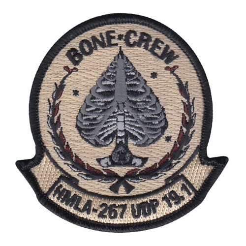 HMLA-267 USMC Custom Patches