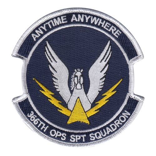 366 OSS Mt Home AFB, ID U.S. Air Force Custom Patches
