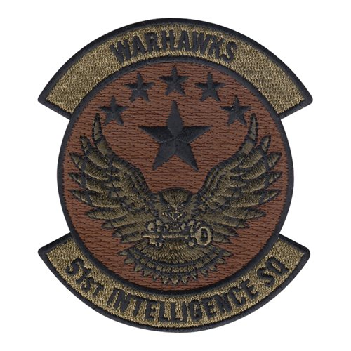 51 IS Shaw AFB, SC U.S. Air Force Custom Patches