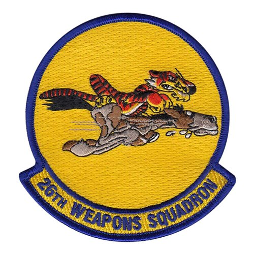 26 WPS Nellis AFB U.S. Air Force Custom Patches