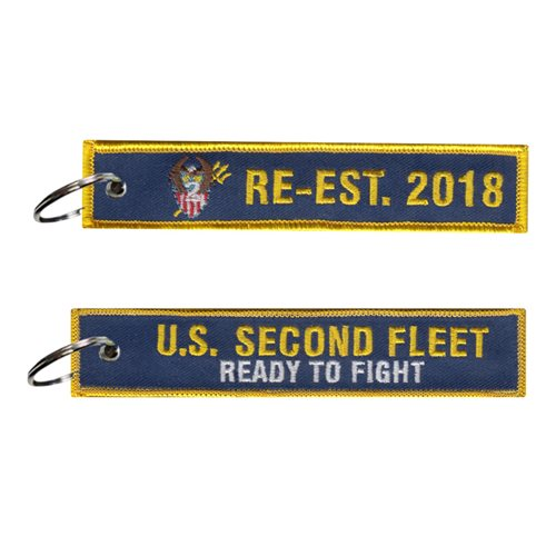 Numbered Fleet U.S. Navy Custom Patches
