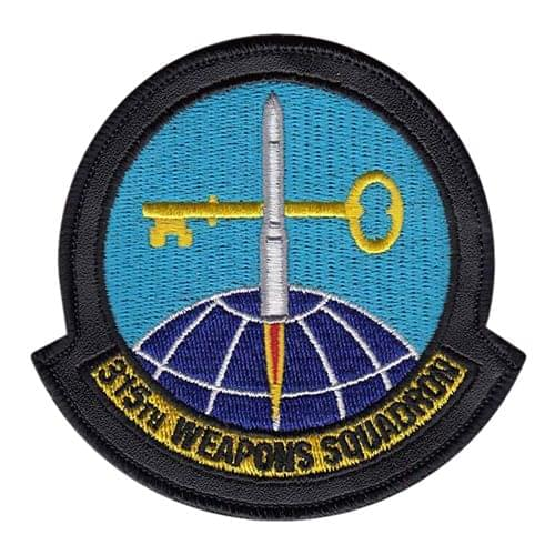 315 WPS Nellis AFB U.S. Air Force Custom Patches
