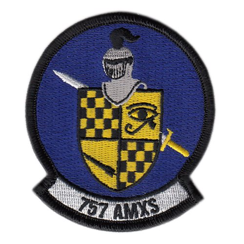 757 AMXS Nellis AFB U.S. Air Force Custom Patches