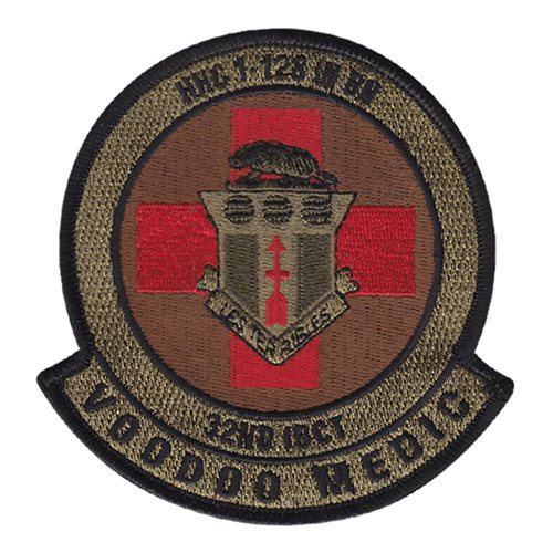 HHC 1-128 IN BN U.S. Army Custom Patches