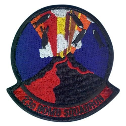 23 BS Minot AFB, ND U.S. Air Force Custom Patches