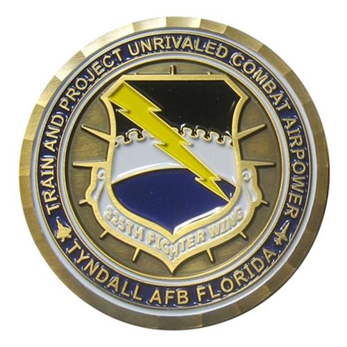Tyndall AFB, FL Challenge Coins