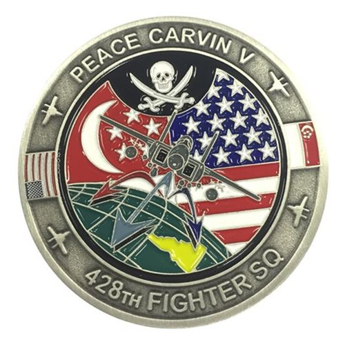 Mt Home AFB, ID Challenge Coins
