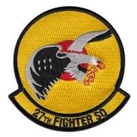 27 FS Custom Patches
