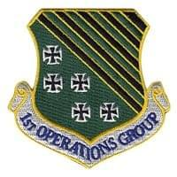 1st Operations Group (1 OG) Custom Patches