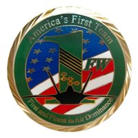 Langley AFB Challenge Coins