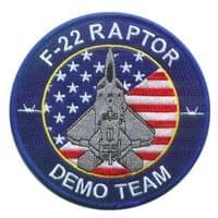 F-22 Demo Team Patch