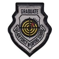 USAF Weapons School Instructor (USAFWS Instructor) Custom Patches