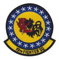 19th Fighter Squadron (19 FS) Custom Patches