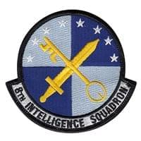 8th Intelligence Squadron (8 IS) Custom Patches
