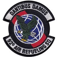92d Air Refueling Squadron  (92 ARS) Custom Patches