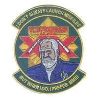 Intercontinental Ballistic Missile (ICBM Training) Custom Patches