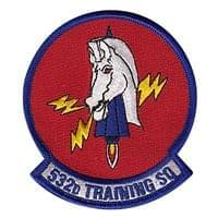 532nd Training Squadron (532 TRS) Custom Patches