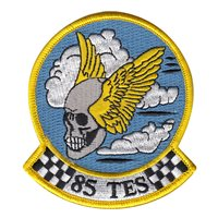 85th Test and Evaluation Squadron (85 TES) Custom Patches