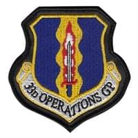 33d Operations Group (33 OG) Custom Patches