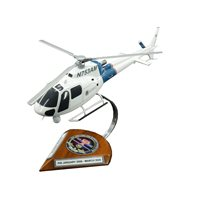 Custom Helicopter Wooden Model
