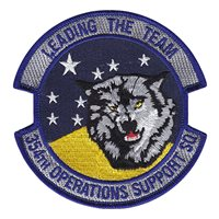 354th Operations Support Squadron (354 OSS) Custom Patches