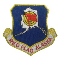 Red Flag Alaska Custom Patches