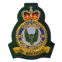No. 39 Squadron RAF Royal Air Force International Custom Patches